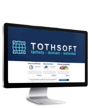 tárhely - domain - tothsoft